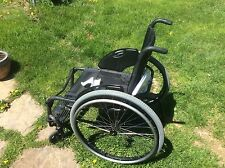 Quickie GT Wheelchair, Metallic Black , Very Nice Solid , Sunrise Medical , USA