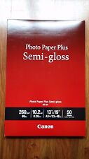 "Canon Photo Paper Plus Semi-Gloss 13"" x 19"" (50 Sheets) (SG-201 13X19)"