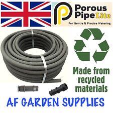Porous Pipe Lite Soaker Hose 25mx13mm Roll. Garden Irrigation Leaky Watering
