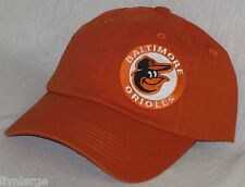 Baltimore Orioles LADIES CAP ~HAT ~CLASSIC MLB PATCH/LOGO ~COOKED CARROT ~NEW