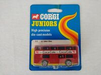 Corgi Juniors 81 London Bus Coca-Cola Daimler Fleetline 1973 Free Postage