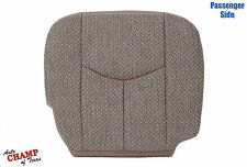2003-2007 Chevy Silverado Work Truck -Passenger Side Bottom Cloth Seat Cover Tan