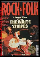 "ROCK & FOLK  #455 + CD ""THE WHITE STRIPES+Cream,F.Black,Foo Fighters,Mickey 3D"""