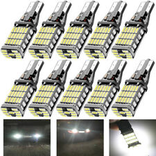 10X White 45 SMD 4014 Error Free LED T15 W16W Car Reverse Back Light Bulb Lamp