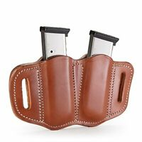 1791 Gunleather 2.1 Mag Holster - Double Mag Pouch for SINGLE STACK Mags, OWB