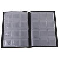 Protecteur de livre d'album Penny Pockets avec stockage de 120 pièces - Bleu