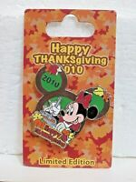 Pin 80063: WDW/DLR -  Happy Thanksgiving 2010 - Minnie Mouse   NOC