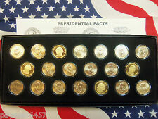 Set of 20 2007 Presidential Dollars Uncirculated P&D, Proof, Satin Finish