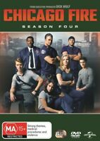 Chicago Fire:Season 4 Four DVD NEW Region Jesse Spencer