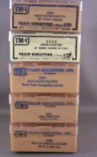 "Train Miniature - 5 Empty Plastic 3-1/4"" x 6-1/4"" Boxes - Lot B"