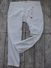 Sheego Stretch Jeans Hose Gr. 42 - 52 Long Kurzgröße Weiß (198) NEU