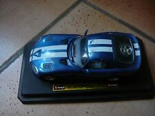 voiture miniature DODGE VIPER GTS COUPE  BURAGO - les portes et capot s'ouvrent