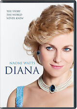DIANA DVD - SEALED - NAOMI WATTS - PRINCESS DIANA - AUTHENTIC US RELEASE