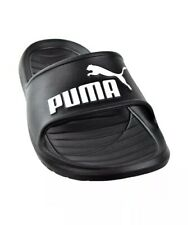 MEN'S PUMA SLIDES BLACK SANDALS POOL SHOE DIVECAT V2 NEW IN BOX Size 9 FREE SHIP