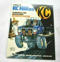 KC Hilites INC Spring 76 Vintage Commercial & Recreational Auto Lighting Catalog