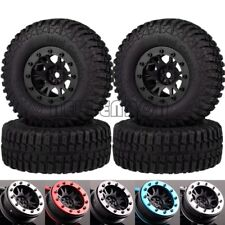 "4P 1.9"" Beadlock Wheel Rim 100Mm Tires For Rc 1/10 Crawler Cc01 D90 D110 Scx10"