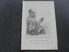 1912 Kunstdruck / Maler Christian Landenberger