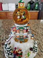 Walt Disney Winter Wonderland Snowglobe Incomplete READ! Mickey Minnie More!