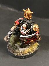 Warhammer 40k Space Marine Black Templar Marshall/Castellan in Terminator Armor