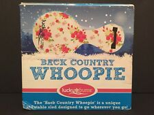 Lucky Bums Inflatable Back Country Whoopie Snow Sled - NEW