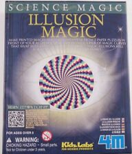 4M Science Magic - Illusion Magic - NEW - COOOL!