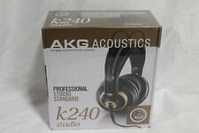 AKG K240STUDIO Semi-Open Over-Ear Professional Audio Studio Headphones - Gold