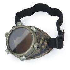 Monocle VICTORIAN Cyber Steampunk Goth Cyclop Monovision Eye Patch Goggle Bronze