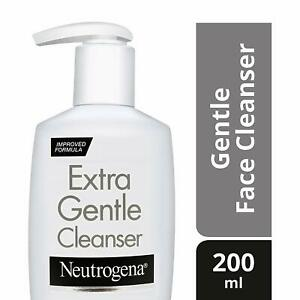 Neutrogena Extra Gentle Cleanser 200 ml - (Facial Cleanser) Free Shipping