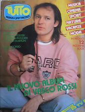 TUTTO 6 1985 Vasco Rossi Style Council Sandy Marton Pia Zadora Alice Boy George