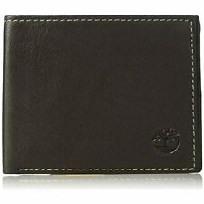 Timberland Men's Leather Wallet and Carabiner Gift Set, One Size, brown