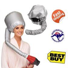 PORTABLE SALON HAIR DRYING CAP BONNET HOOD BLOWER DRYER MAKEUP NAILS EYEBROW DIY