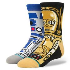 STANCE - STAR WARS 'Droid' KIDS SOCKS MEDIUM - 6-8.5 - NEW - FREE USA SHIPPING!