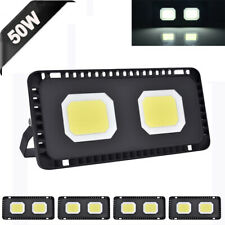 5X 50W Mini Cool White LED Flood Light Outdoor Garden Lamp Lighting Floodlight