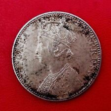 MONNAIE ARGENT 1 RUPEE INDIA   1890  VICTORIA EMPRESS ANCIENNE