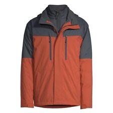 Swiss Tech Peak Technology 3 In 1 System Water Resistant Hoodie Jacket Men 3XL