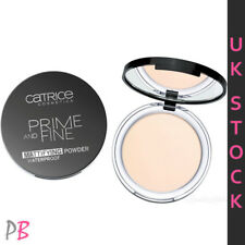 Catrice Prime and Fine Powder Pressed Compact Face Waterproof Translucent Matt