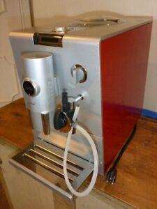 Jura-Capresso ENA5 Coffee & Espresso Maker - Red / Silver Fully automatic