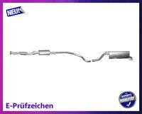 Auspuffanlage Fiat Grande Punto (199) 1.4 16V 70KW Auspuff Endtopf Mitteltopf