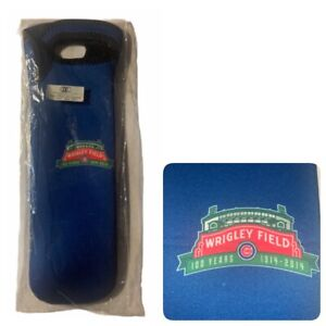 Wine Bottle Neoprene Cooler Tote Chicago Cubs 100th Anniversary of Wrigley Field