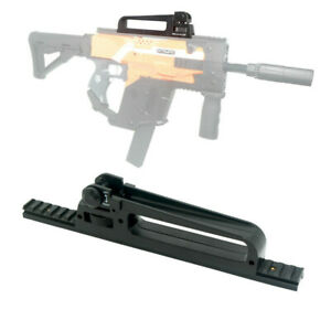 Tactical Carrying Handle Device Adjustable Rails Mount for Stryfe Modify Toy
