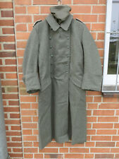 Talla 54 Wehrmacht abrigo invernal m40 campo abrigo con braga de cuello bufanda