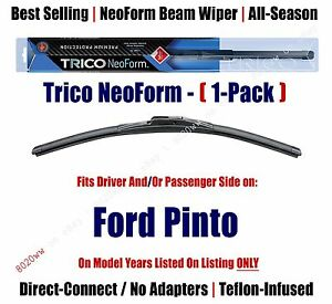 Super Premium NeoForm Wiper Blade (Qty 1) fits 1971-1980 Ford Pinto - 16160