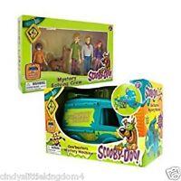Scooby Doo Mystery Machine Van & 5 pack solving figures Goobuster playset  3+