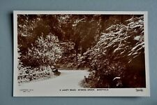 R&L Postcard: Sheffield Wyming Brook Leafy Road, Remires/Fulwood/Rivelin