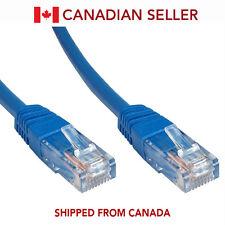 3FT CAT6 Cable Ethernet Lan Network CAT 6 RJ45 Patch Cord Internet Blue
