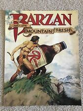 Vintage Rainier Beer Poster, Barzan Mountain Fresh