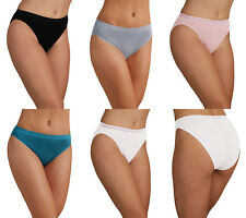 Pack of 2 M&S Modal Cotton Blend No VPL High Leg Knickers choice of colour