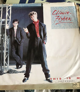 """Climie Fisher 12"""" vinyl single record (Maxi) This Is Me UK 12EMI5578 EMI 1986"""