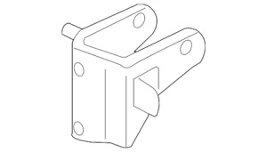 Genuine GM Trans Mount Bracket 88975611
