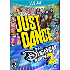 Just Dance: Disney Party 2 (Nintendo Wii U, 2015) Factory sealed !